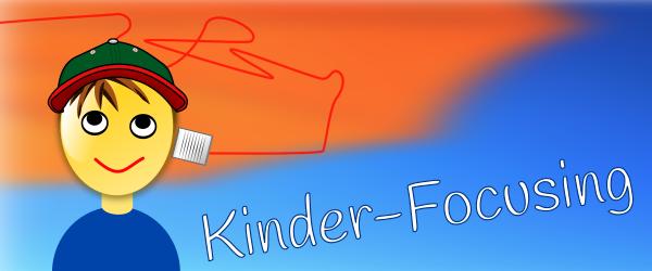 Zeichnung eine Jungen, der eine Blechdose aus der ein roter Faden kommt, an das Ohr hält.
